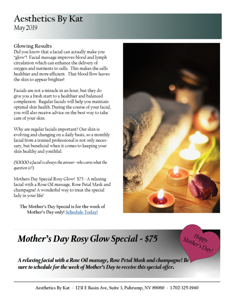 May 2019 Newsletter, page 2